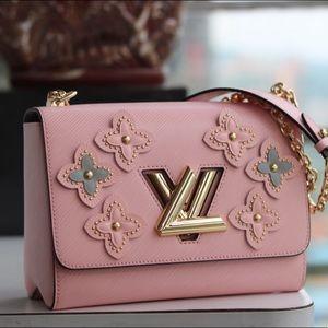 Authentic Louis Vuitton Bloom Flower Handbag